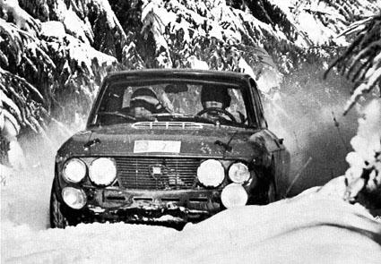 Nachruf Tony Fall 2007: Winterspaß bei der RAC 1969 - Tony Fall/Henry Liddon
