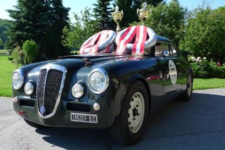 Auto verpflichtet - Chauffeur folgt! (Gaisbergrennen 2010)
