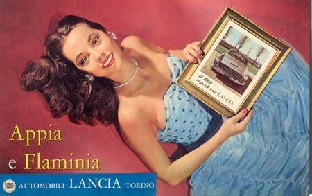 Lancias Werbung: Prospekte, Plakate - auf CD (März 2011)