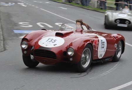 Gaisbergrennen 2011 - einziger Lancia auf dem Stadtrundkurs