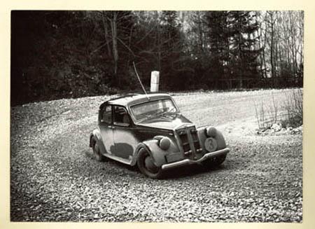 Die vor-heroische Zeit: Karl L. Hirsch auf Aprilia 1955