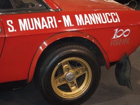 100 Jahre Lancia - Sonderausstelung in Padua 2006