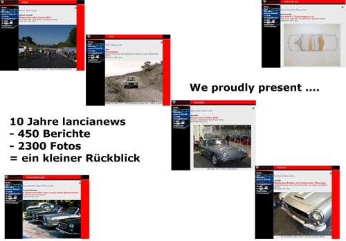 Der 10-Jahresrückblick von Lancianews