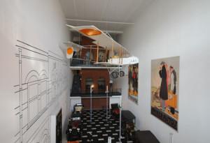 Blick aus dem 2. Stock