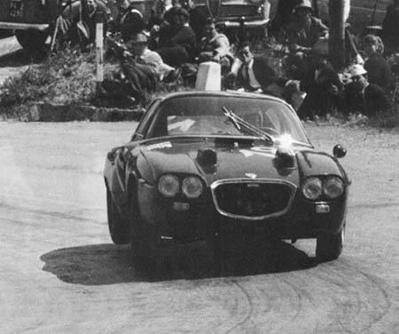 Italienische Straßenrennen: Flavia-Zagato-Prototyp 1964 - Cella/Trautmann - ausgeschieden