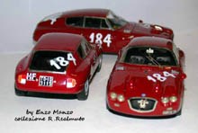 Für jedes teilnehmende Fahrzeug das entsprechende Modell - Made in Italy
