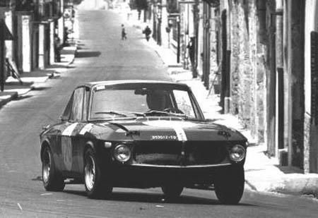Italienische Straßenrennen: Pat Moss-Carlsson/Rosadella Facetti 1968 - Platz 19