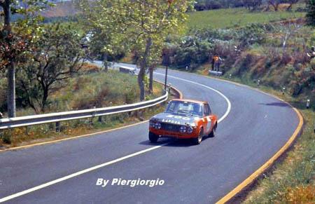 Italienische Straßenrennen: 1970 - R. Pinto/J. Ragnotti - ausgeschieden. Frühling in Sizilien!