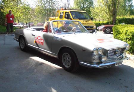 Südsteiermark Classic 2012: Auch Schweizer kamen in die Süsteiermark - Baujahr 1962