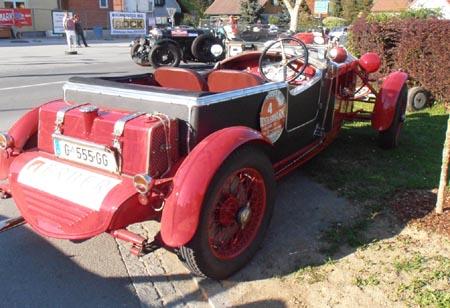 Südsteiermark Classic 2012: Auch Mille-Miglia-erprobt, aber weniger oft im Ziel!