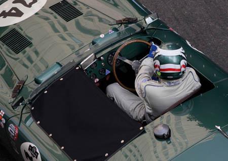 Grand Prix Historique 2012: British Green, gepflegt wie niemals zur aktiven Zeit