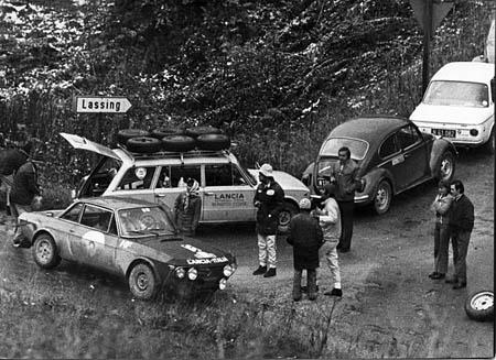 Fahrzeuge aus erster Hand: 1000 Minuten Rallye 1971: Service für Munari am Morgen des 2. Tages