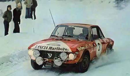 Lancia in Schweden: 1973 - Källström/Bilstram - Platz 3 - letzter Start von Harry für Lancia