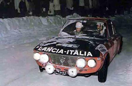 Lancia in Schweden: 1972 - Källström/Haggbom - Platz 3