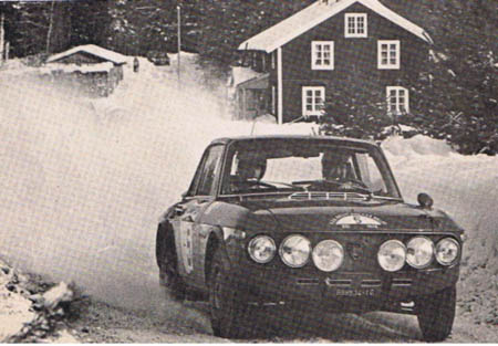 Lancia in Schweden: 1970 - Källström/Haggbom - alle drei Fulvias ausgeschieden