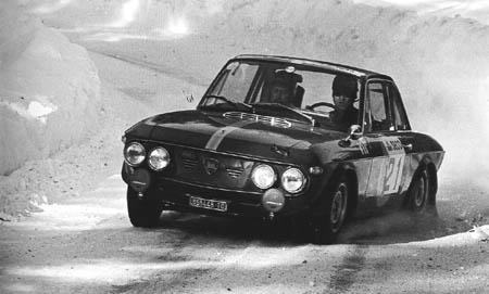 Lancia in Schweden: 1967 - Toivonen/Ahava - Platz 6 (Archiv McKlein)