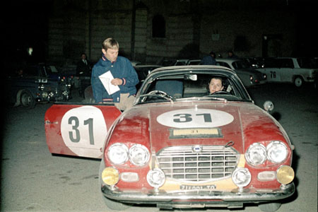 3-Städte-Rallye 1965: Trautmann/Trautmann - Siegerauto Coupe des Alpes