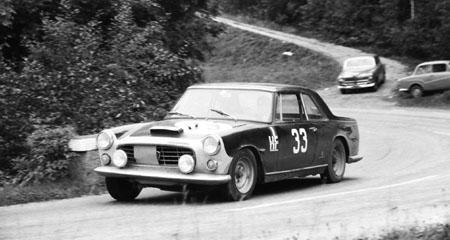 3-Städte-Rallye 1965: W. Radler/K. Sassarak - Lancia Flaminia Coupé