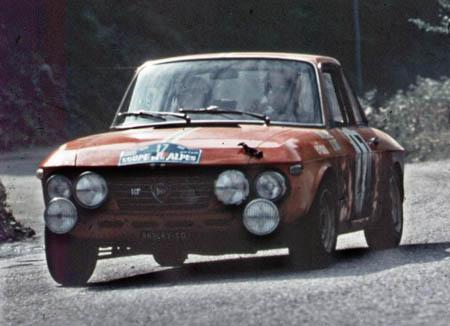 Coupe des Alpes: 1969 T. Makinen/P. Easter auf 1,6 HF Prototyp - ausgeschieden