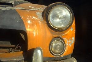 Lancia Flaminia Sport - Frontscheinwerfer