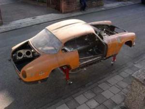 Lancia Flaminia Sport - Karosserie
