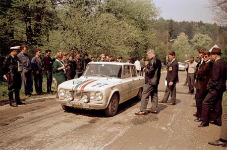 Österreich-Rallyes: Semperit Rallye 1965 - Cavallari/Munari Alfa Gulia ti - Platz 7