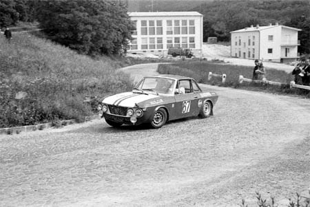 Österreich-Rallyes: Semperit Rallye 1968 - Cavallari/Salvay Jolly Club - Platz 4 (SP Stotzinger Berg)