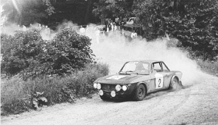 Österreich-Rallyes: Semperit Rallye 1972 - Ballestrieri/Bernacchini - Platz 3 (SP Haidlhof)