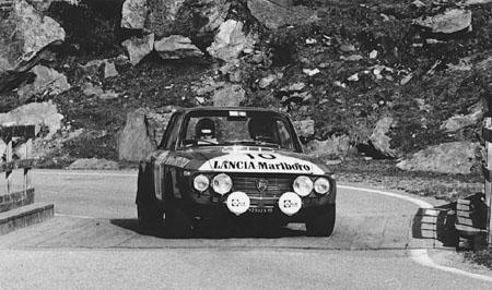 Österreich-Rallyes: Semperit Rallye 1973 - Pregliasco/Sodano - ausgeschieden (SP Silvretta)