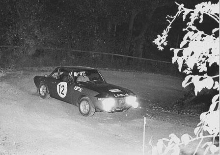 Österreich-Rallyes: 1000 Minuten 1970 - Källström/Haggbom - das Siegerauto der RAC 1970