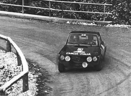 """Österreich-Rallyes: 1000 Minuten 1971 - Munari/Mannucci - """"natürlich"""" Gesamtsieg (SP Hengstpass)"""