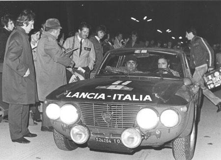 Österreich-Rallyes: 1000 Minuten 1971 - Ballestrieri/Bernacchini - Klassenfüller für Munari