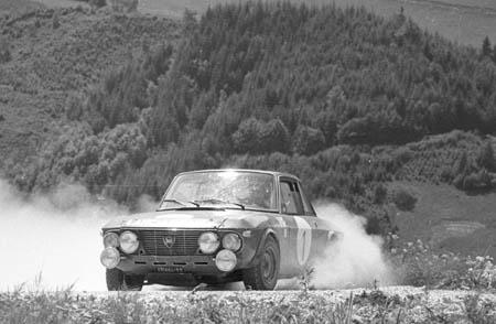"""Österreich-Rallyes: Semperit Rallye 1971 - Munari/Mannucci - """"natürlich"""" Gesamtsieg (SP Kaiserau)"""