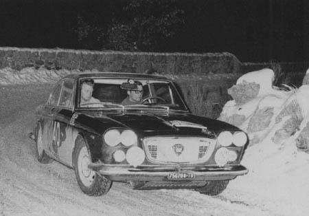Rallye Monte Carlo 1966 - Andersson/Dahlgren Platz 3 auf der Flavia