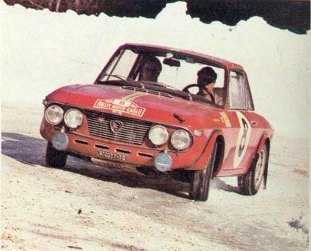 Rallye Monte Carlo 1968 - beste von acht Fulvia 1,3 HF