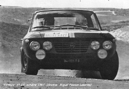 Fulvia Prototyp (Gruppe 6) - RACE-Rallye 1967 - Sieg für Andersson/Davenport