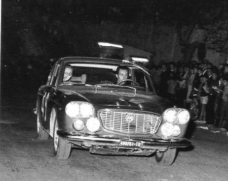 Tour de Corse: 1963 - in der Höhle der französischen Löwen: Cella/Bagnasacco auf Flavia 1,8