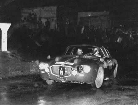 Tour de Corse: 1964: Pianta/Manino mit dem 2 Liter-Flavia-Prototyp - ausgeschieden