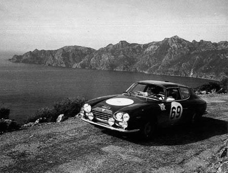 Tour de Corse: 1965 - Maglioli/Boscono wegen Zeitüberschreitung nicht gewertet