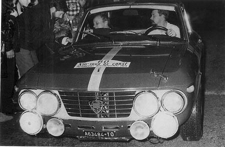Tour de Corse: 1968 - die ersten 1,6 HF-Prototypen: Källström/Haggbom - ausgeschieden