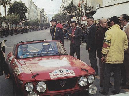 Tour de Corse: 1969 - Red submarines aus Turin: F&M-Barchettas auf Plätzen 11 und 13