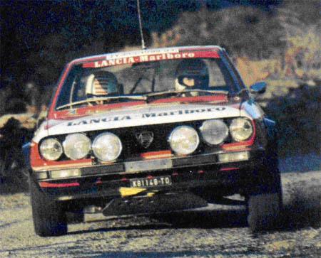 """Tour de Corse: 1974 - """"Zwischenlösung"""" Beta Coupé Pregliasco/Sodano - ausgeschieden"""