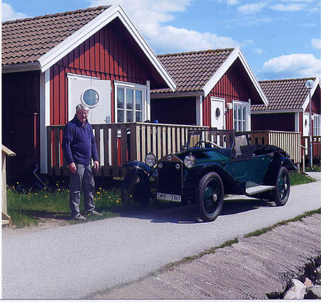 News vom Svenska Lanciaklubben: Magnus Nilsson and his Lambda 1925