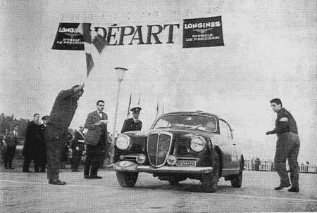Rallye Akropolis: 1958 - Villoresi/Basadonna - im letzten Jahr der Aurelia-Produktion
