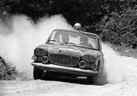 Rallye Akropolis: 1965 - Pianta/dela Morte im typischen Akropolis-Gelände