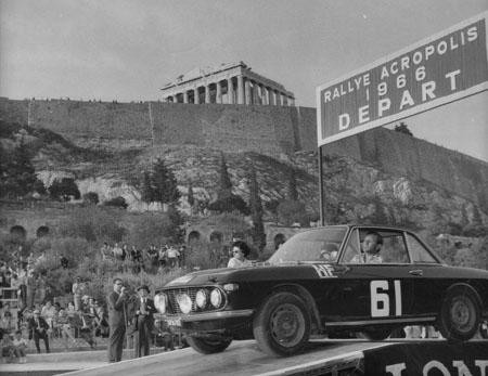 Rallye Akropolis: 1966 - Trautmann/Trautmann mit der Gruppe 1 Fulvia - ausgeschieden