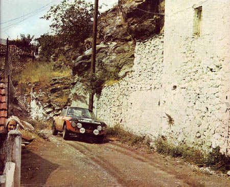Rallye Akropolis: 1971 - Lampinen/Davenport - Platz 3