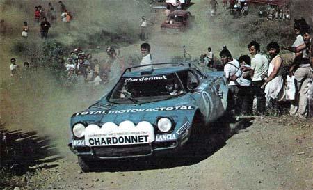 """Rallye Akropolis: 1979 (und 1980) - Darniche/Mahé - die letzten """"Stratos-Mohikaner"""" - ausgeschieden"""