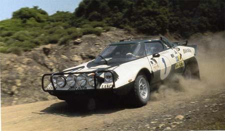 Rallye Akropolis: 1975 - Waldegard/Thorzelius im Alitalia-Bemalung - ausgeschieden