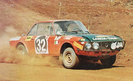 Rallye in Ostafrika: 1971 - Munari/Drews wie die anderen Fulvias ausgeschieden